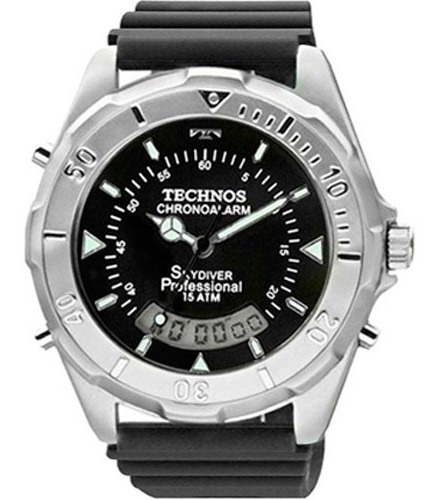 Relógio Technos Masculino Performance Skydiver T20562/8p
