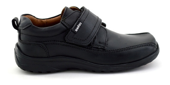 Zapato Escolar Coqueta Para Niño 86802 Negro [cta83]
