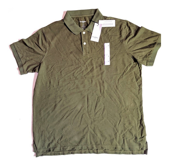 Playera Original Goodfellow Talla Xl Color Verde Militar