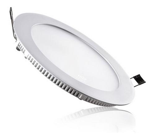 Spot Plafon Panel Luz Led Embutir 18 W  Categoría A+- Cálido