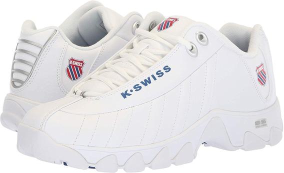 K-swiss St 329 Heritage Wht/clsicblu/rbnrd 05824-130
