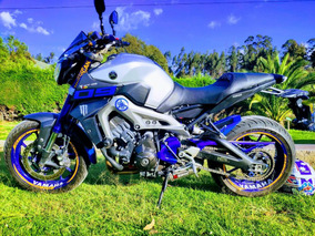 Yamaha Mt09 Abs Race Blue 2015