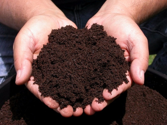 Humus De Lombriz 1 Kg, Lombri Composta Fertilizante Orgánico