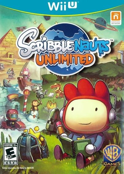 Scribblenauts Unlimited Wii U Semi Novo