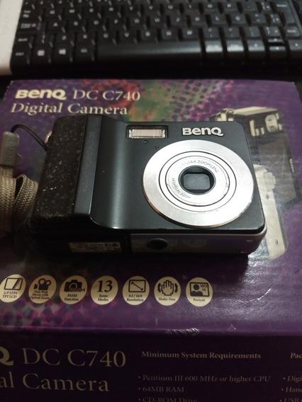 Câmera Digital Marca Benq Dc C740 Leia O Anúncio