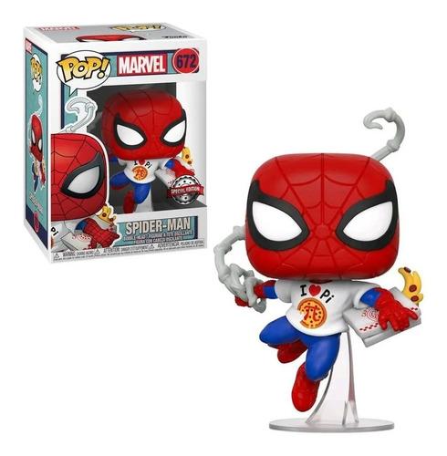Funko Pop Spider-man Marvel 672 Edicion Especial Original