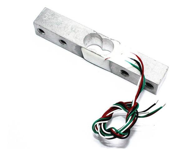 Célula De Carga Sensor De Peso Balança 5kg Arduino Pic