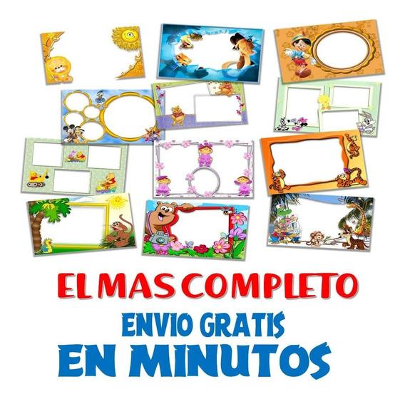 Kit Imprimible Marcos Fotos Editable El Mas Completo +200