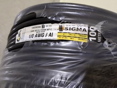 Cable 2/0 Aluminio Marca Delta Sigma.