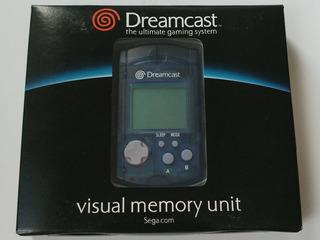 Dreamcast: Vmu Original N O V O!! Manual E Caixa Perfeitos!!