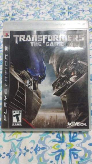 Transformers The Game(leia) - Mídia Física - Ps3