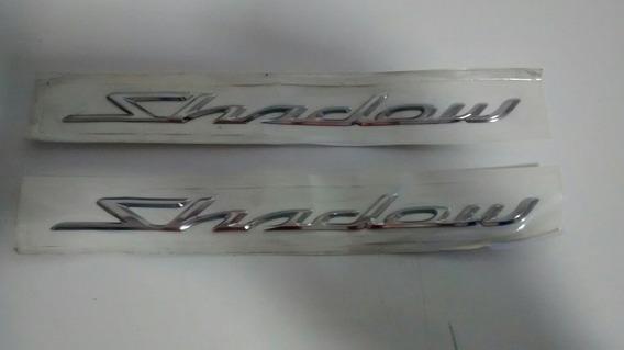 Par Adesivo Emblema Tanque Honda Shadow 12/14 Original 12791