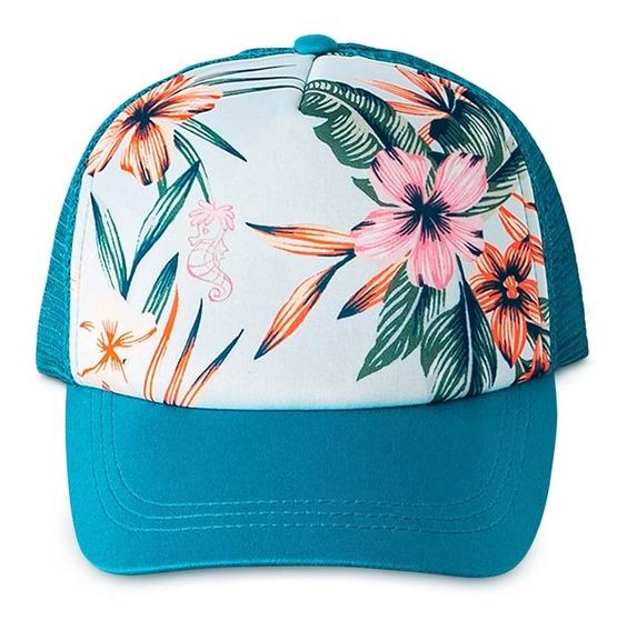 Disney Store Gorra La Sirenita Floral By Roxy Girl, 2019