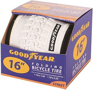 Goodyear Bead Para Bicicletas Plegable 16 X 15225 Color Blan
