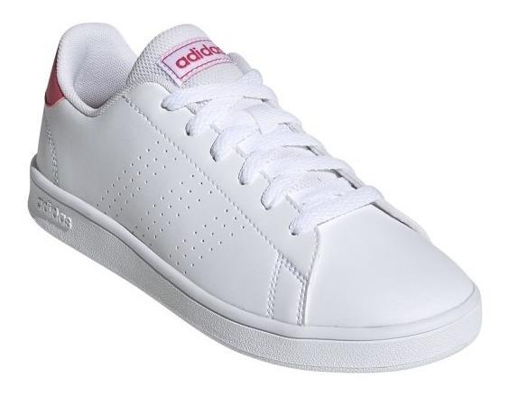 Tenis adidas Advantage K Junior Originales Ef0211