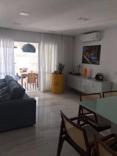 Apartamento Com 3 Dormitórios À Venda, 150 M²- Vila Boa Vista - Santo André/sp - 5589