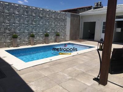 Casa Com 3 Dormitórios À Venda, 280 M² Por R$ 1.700.000 - Cerâmica - São Caetano Do Sul/sp - Ca0129