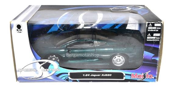 Miniatura Jaguar Xj220 1:24 Maisto Special Edition