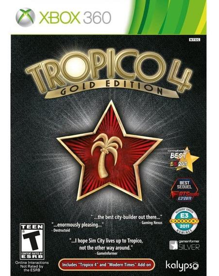 Tropico 4 Gold Edition Xbox 360 Mídia Física Novo Lacrado