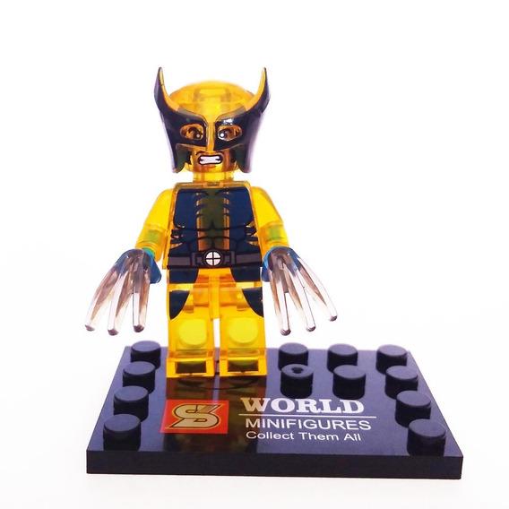 Bloco De Montar Wolverine Translucido Bcu