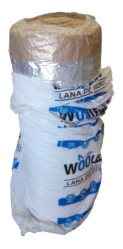 Lana De Vidrio Woolfox Aislante De 50mm X 1,20 M X 18 M