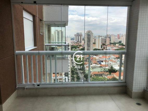 Apartamento Com 3 Dormitórios À Venda, 118 M² Por R$ 1.690.000,00 - Água Branca - São Paulo/sp - Ap2566