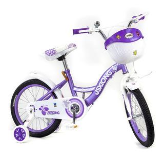 Bicicleta Para Niña Rin 16 Sx-558a, B, C