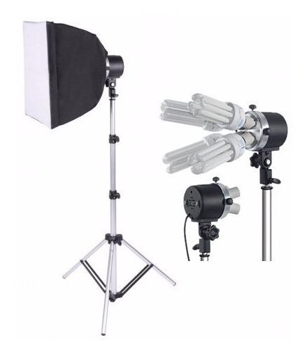 Kit Iluminação Para Newborn E Vídeo Luz Contínua 640w.