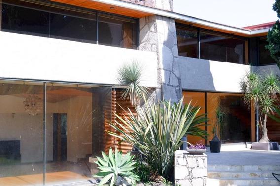 Tlalpan, Espectacular Residencia, Con Chimenea Y Bodega, Excelente Conservación!
