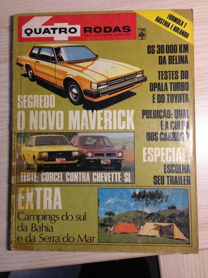 Revista Antiga Rara Gm Chevette E Maverick