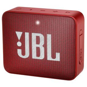 Caixa De Som Bluetooth Jbl Go2 Red Ipx7 2 À Prova D