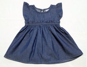 Vestido Jeans Bebê Da Hering - Cód. 2743