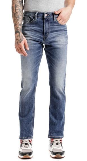 Jeans Denizen® 208 Hombre Azul Slim Cypress Ls