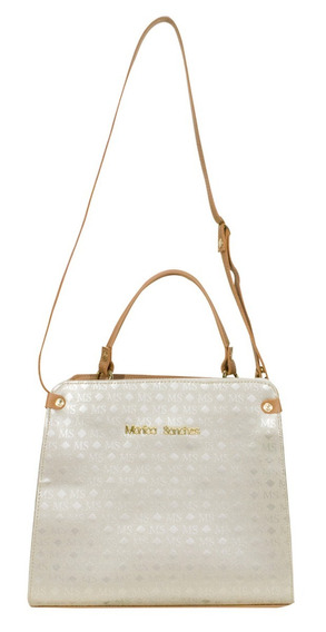 Bolsa Feminina Monica Sanches - 3382 Ms Transfer Ouro Light
