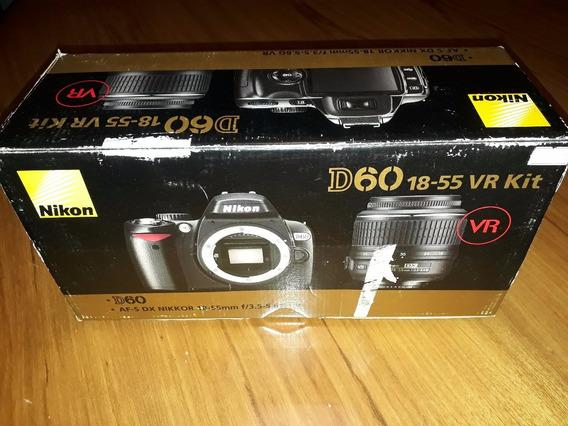 Nikon D60 + Lente 55-300 + Lente 18-55 + Acessórios