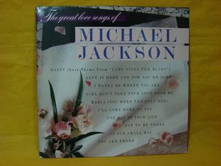 Vinilo Michael Jackson The Great Love Songs Of Lp