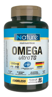 Omega Ultra Tg - 120 Capsulas - Nutrata + Com Nf-e