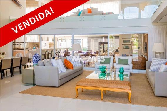 Vendida !!!! Casa Alto Padrão Com 6 Suítes , 703 M² Por R$ 4.500.000 - Condomínio Spazio Verde - Bauru/sp - Ca1109