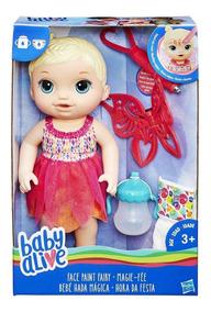 Baby Alive Fada Pinta Rosto Loira -original (eua)