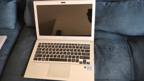Notebook Sony Vaio Svt13125cxs Inteiro Ou Em Peças