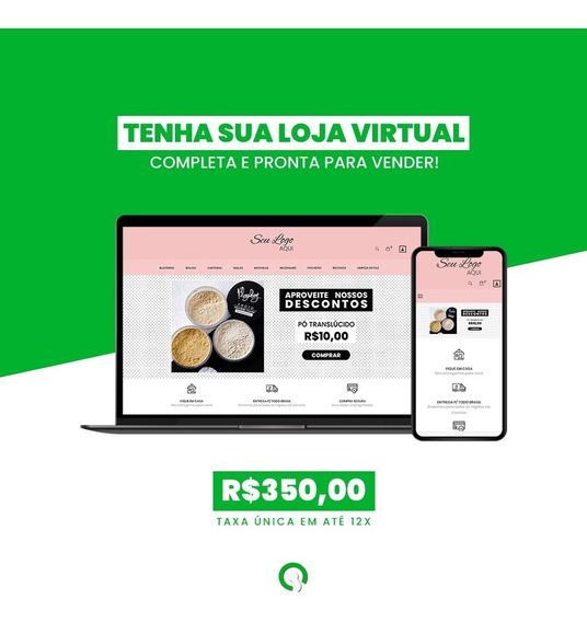 Loja Virtual Pronta + Pagamentos + Correios + Hospedagem