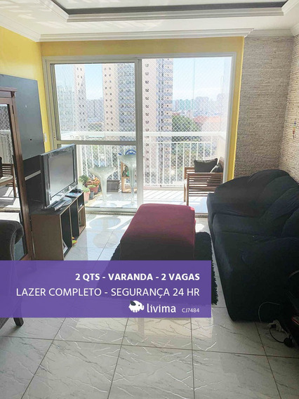 Apartamento À Venda Na Rua Cesário Ramalho, Cambuci, São Paulo - Sp - Liv-3483