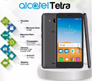 Increíble Alcatel Tetra *2019 16gb/2gb Ram Android 8 Oferta!