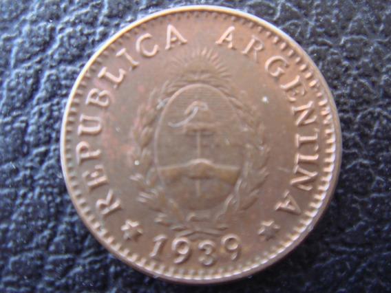 Argentina - Moneda D 1 Centavo D Cobre, Año 1939 - Muy Bueno