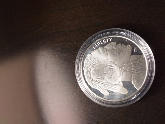 Moneda De 1 Oz De Plata