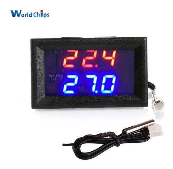 Termostato Digital Controle Temp Chocadeira Aquario W1209 Wk