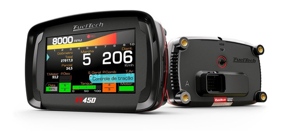 Injeção Eletrônica Fueltech Ft450 Chicote 3mt Pronta Entrega