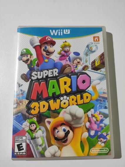 Super Mario 3d World Wii U Americano Semi-novo Mídia Física