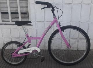 Bicicleta Playera Barbie Importada Rodado 24 Seminueva Unica