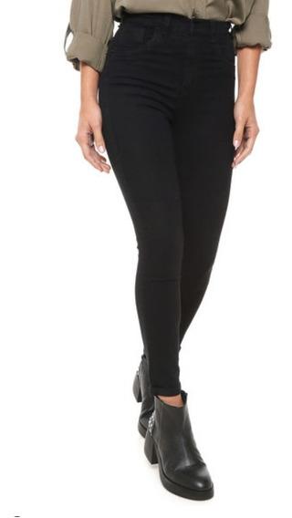 Pantalon Jeans Tiro Alto Elastizado Chupin Talles 36 Al 48!!
